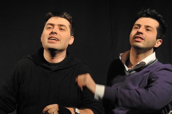 Dario Criserà e Cristiano Falaschi